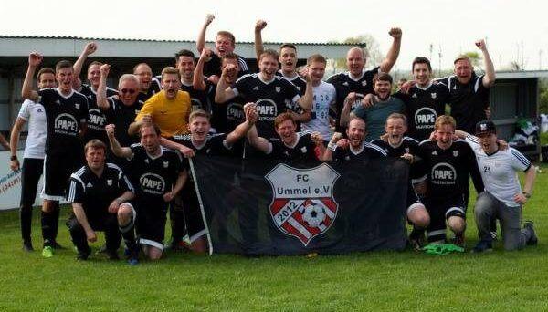 Mannschaftsfoto FC Ummel