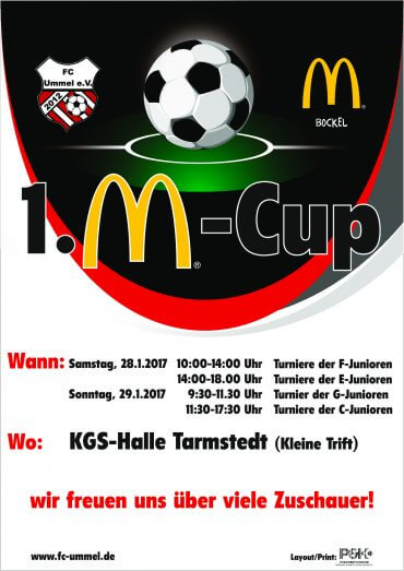 1.McDonald's-Cup 2017 beim FC Ummel