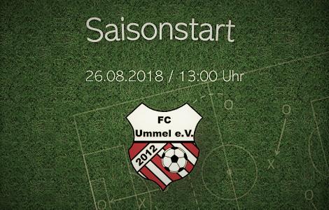 Saisonstart am 26.08.2018 gegen FC Oste-Hamme II