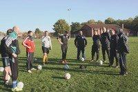 NFV-Lehrgang zur Trainerausbildung beim FC Ummel